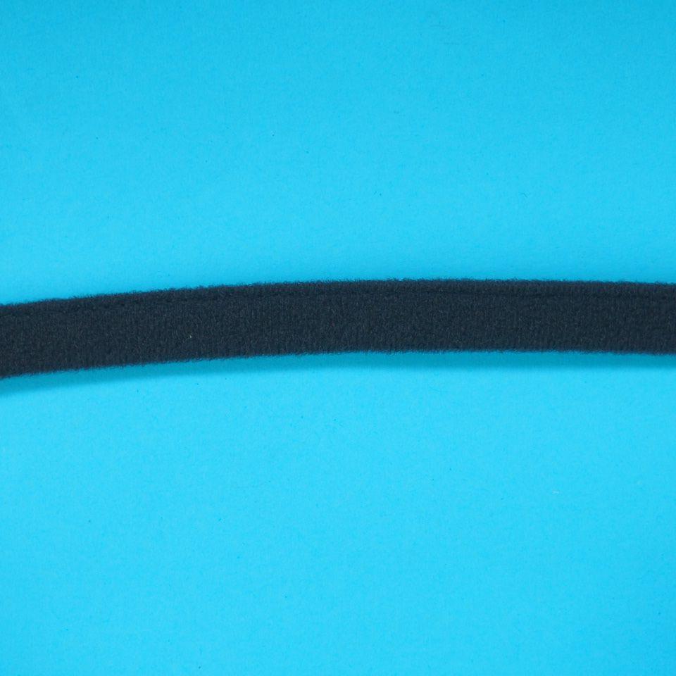 tunýlek pro výrobu podprsenek š. 12 mm - černý počesaný