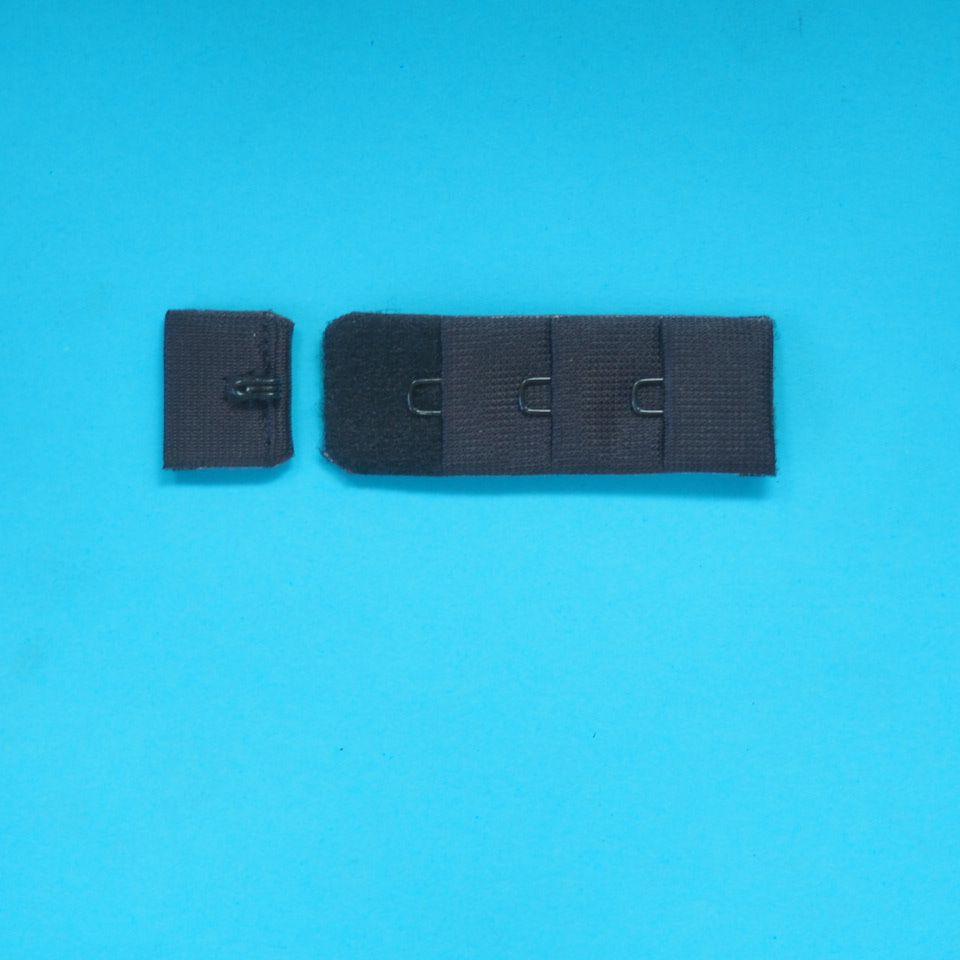 zapínání prádlové H&E CC31-19 (3x1) černé