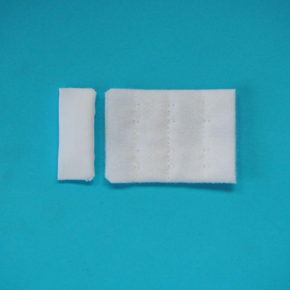 zapínání prádlové H&E CC32-38 (3x2) bílé