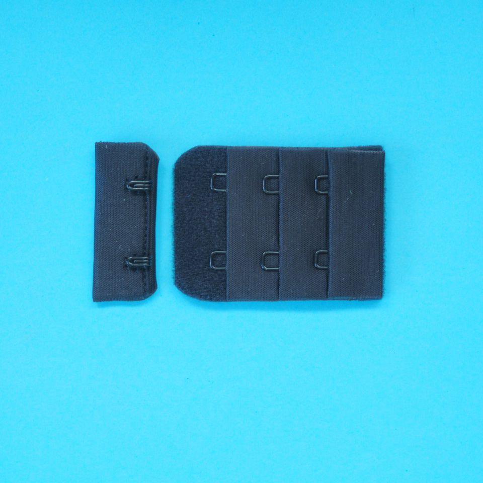zapínání prádlové H&E CC32-38 (3x2) černé