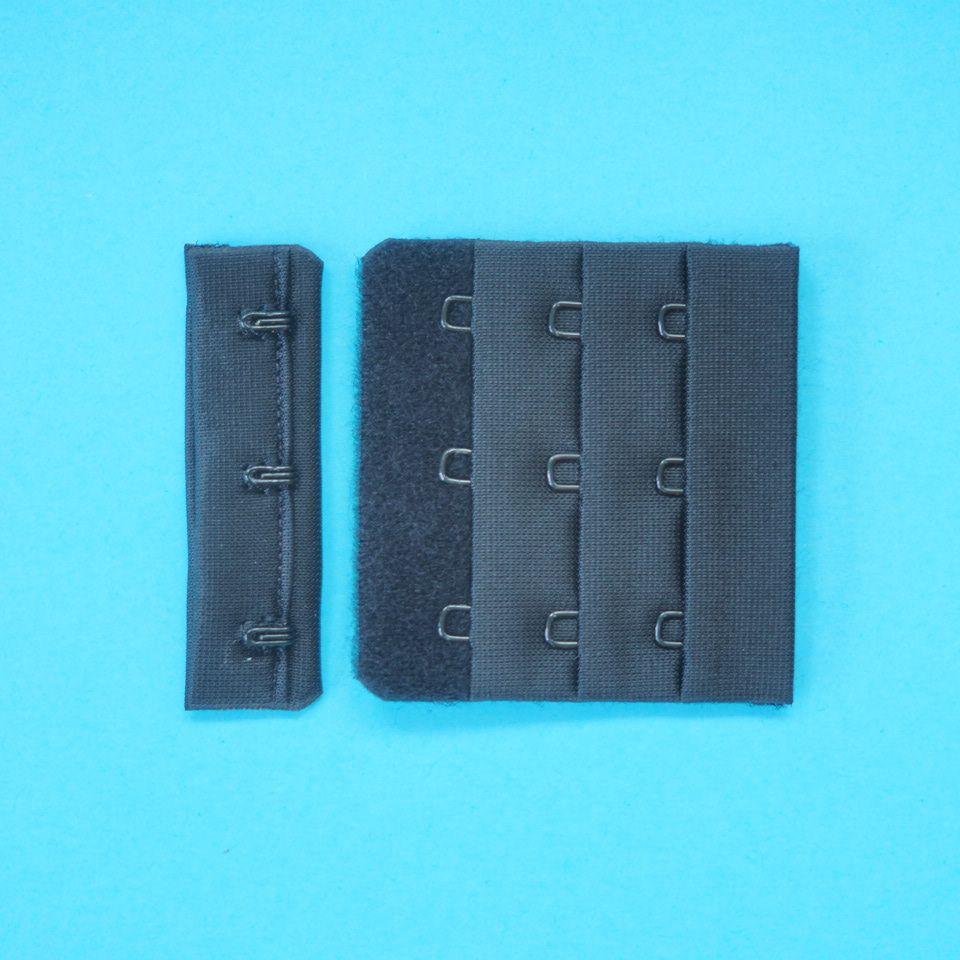 zapínání prádlové H&E CC33-57 (3x3) černé