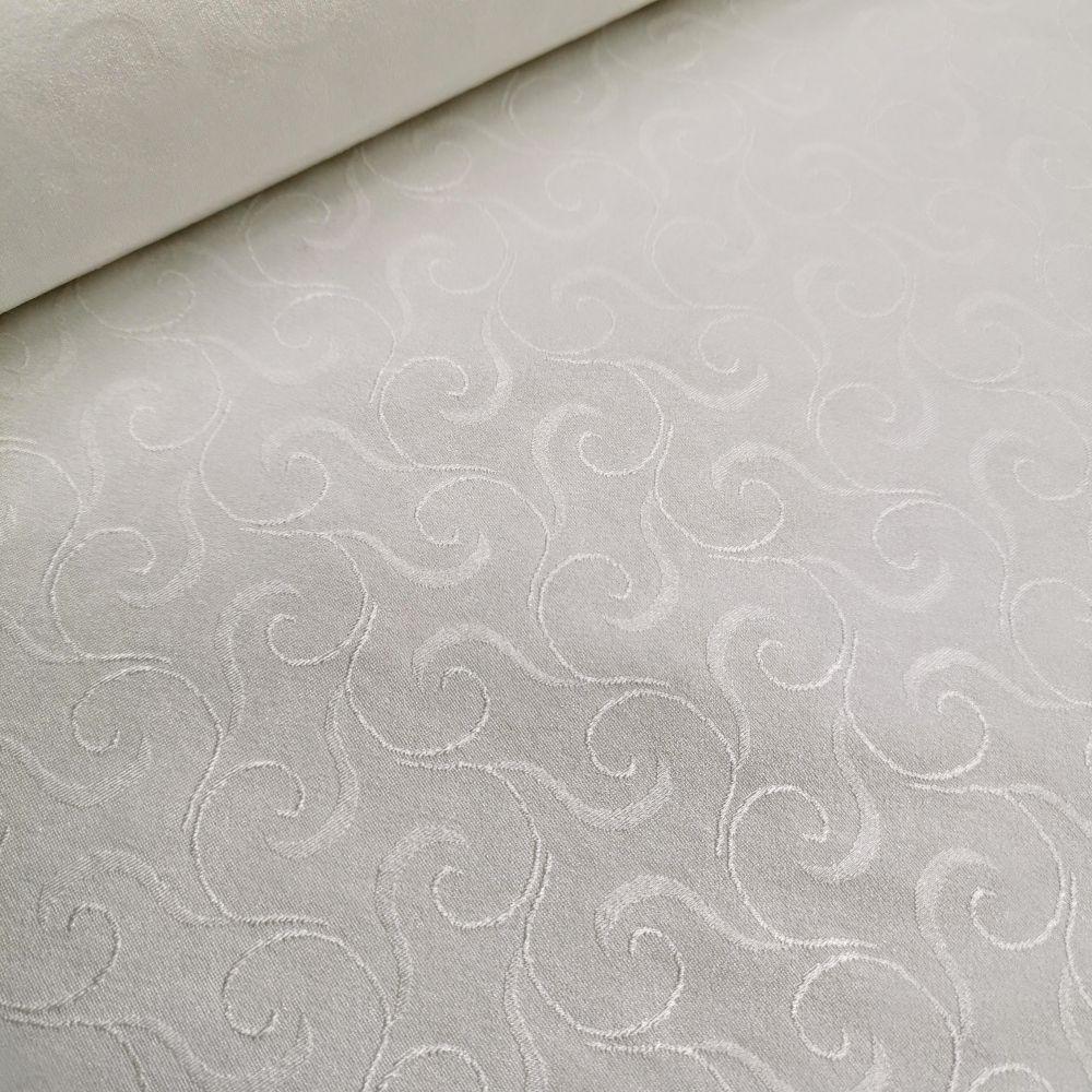 elastický úplet 0590447 bílý
