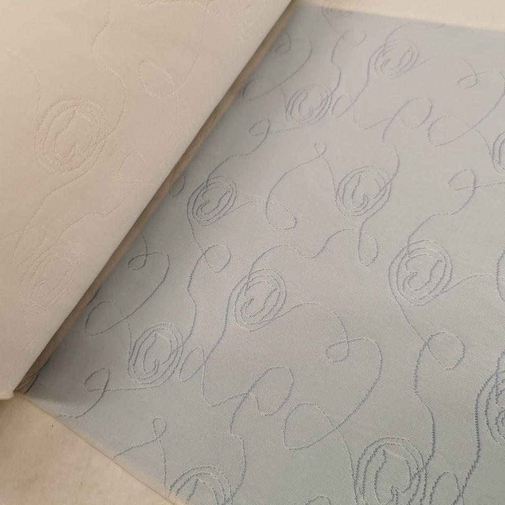 elastický úplet 5543408 bílý