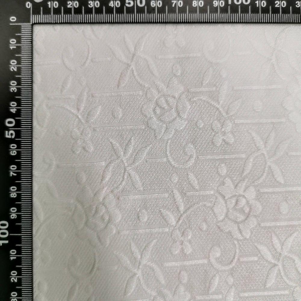 elastický úplet 10584/51 bílý