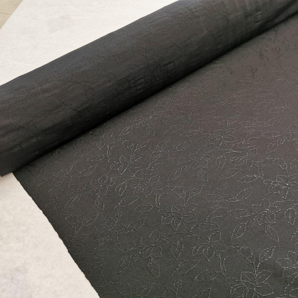 elastický úplet 10584/21 bílý, černý