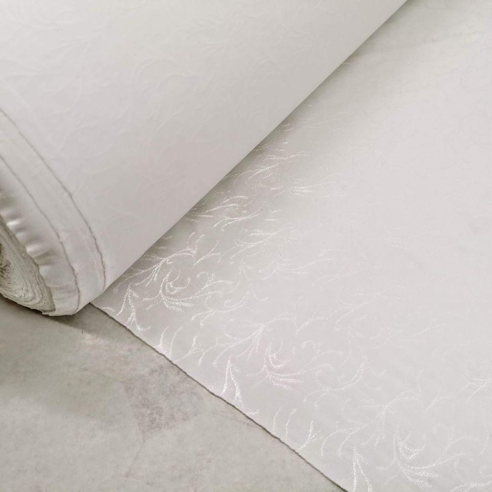 elastický úplet 10584/22 bílý