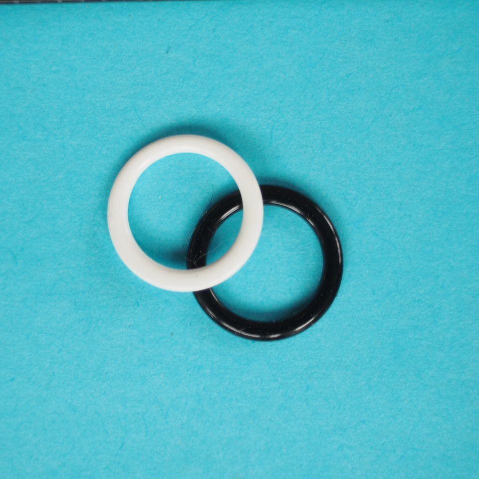 potahované kovové kroužky prádlové 8 mm