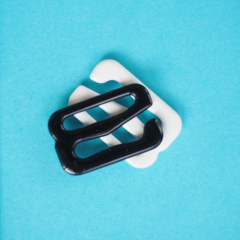 potahované kovové háčky prádlové 11 mm
