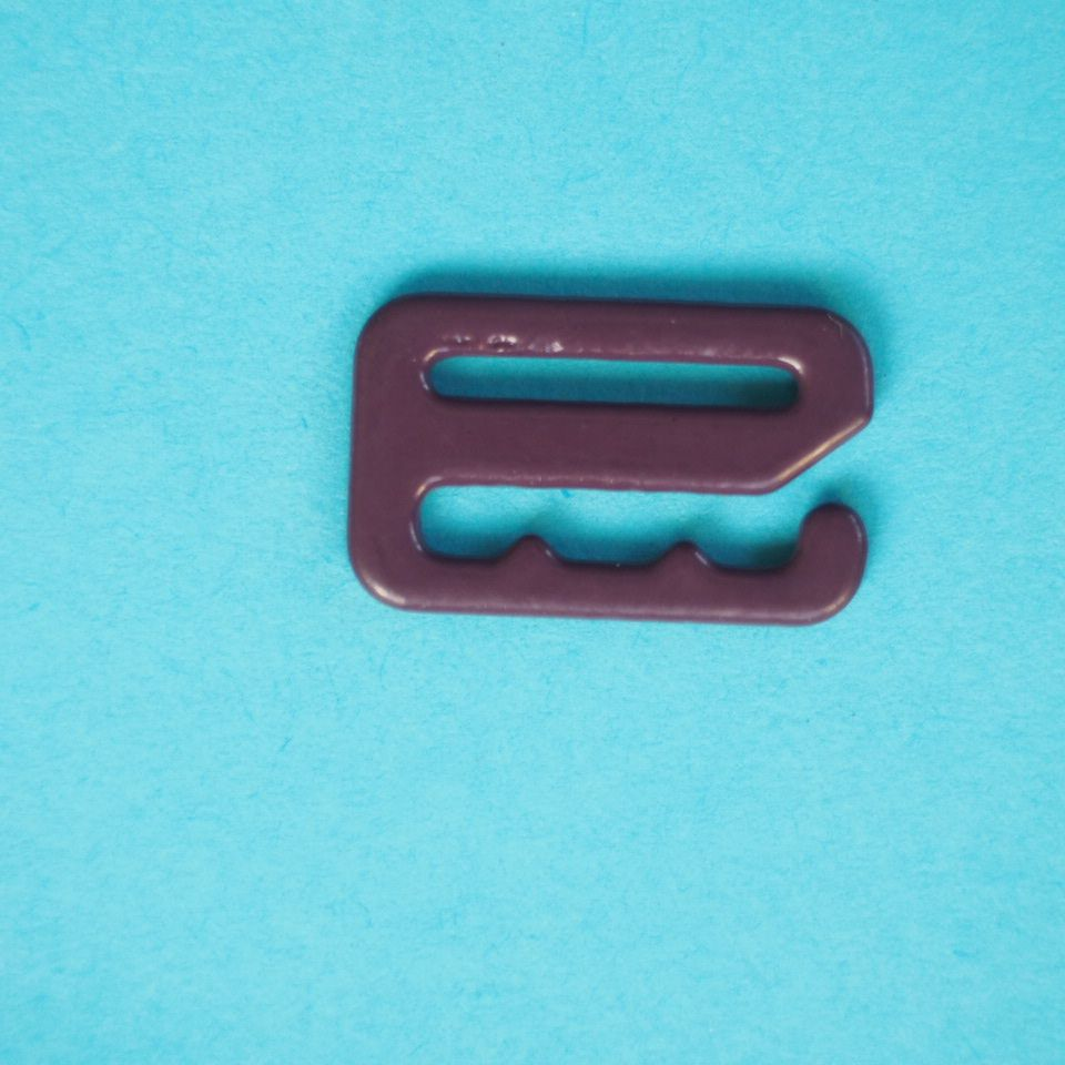 potahované kovové háčky prádlové 12 mm