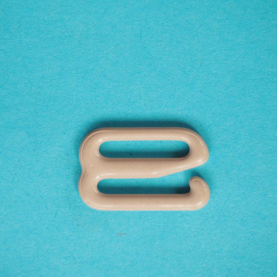 potahované kovové háčky prádlové 15 mm