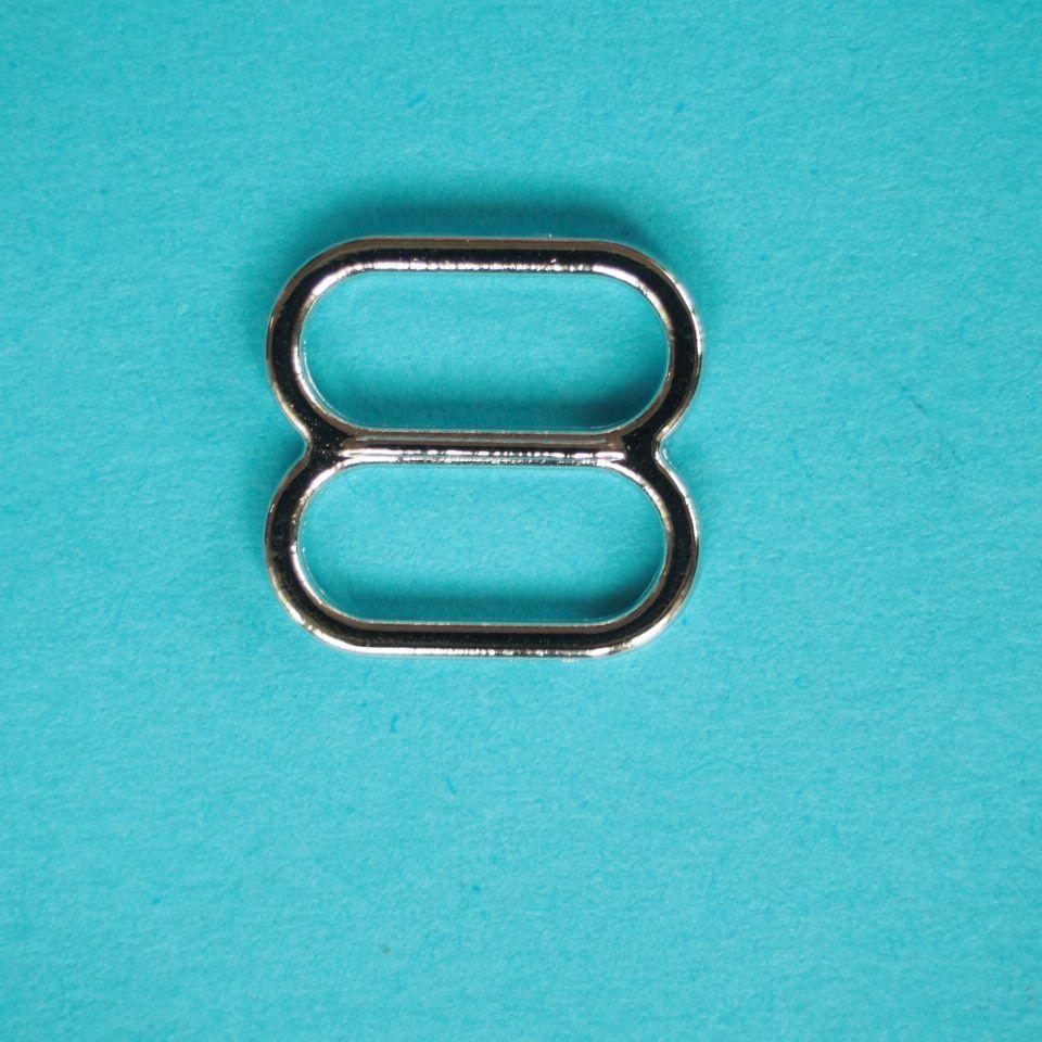 kovové zkracovače 12 mm stříbrné