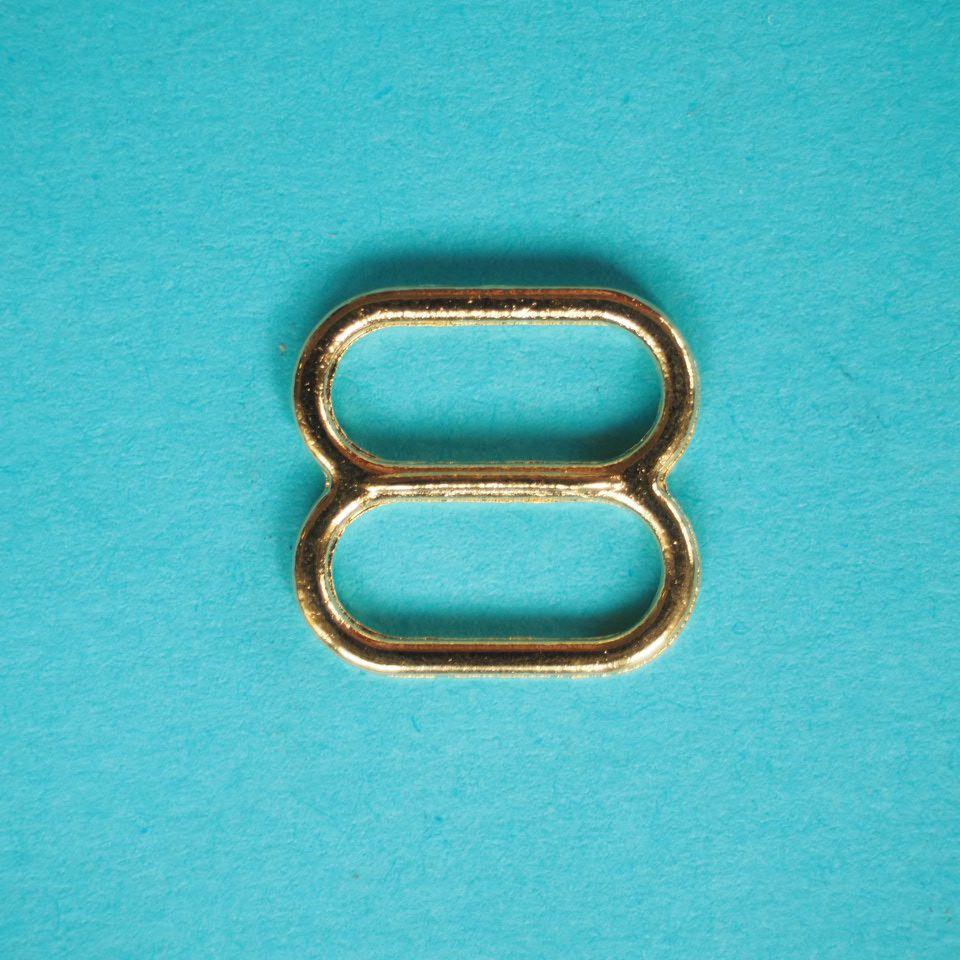 kovové zkracovače 12 mm zlaté