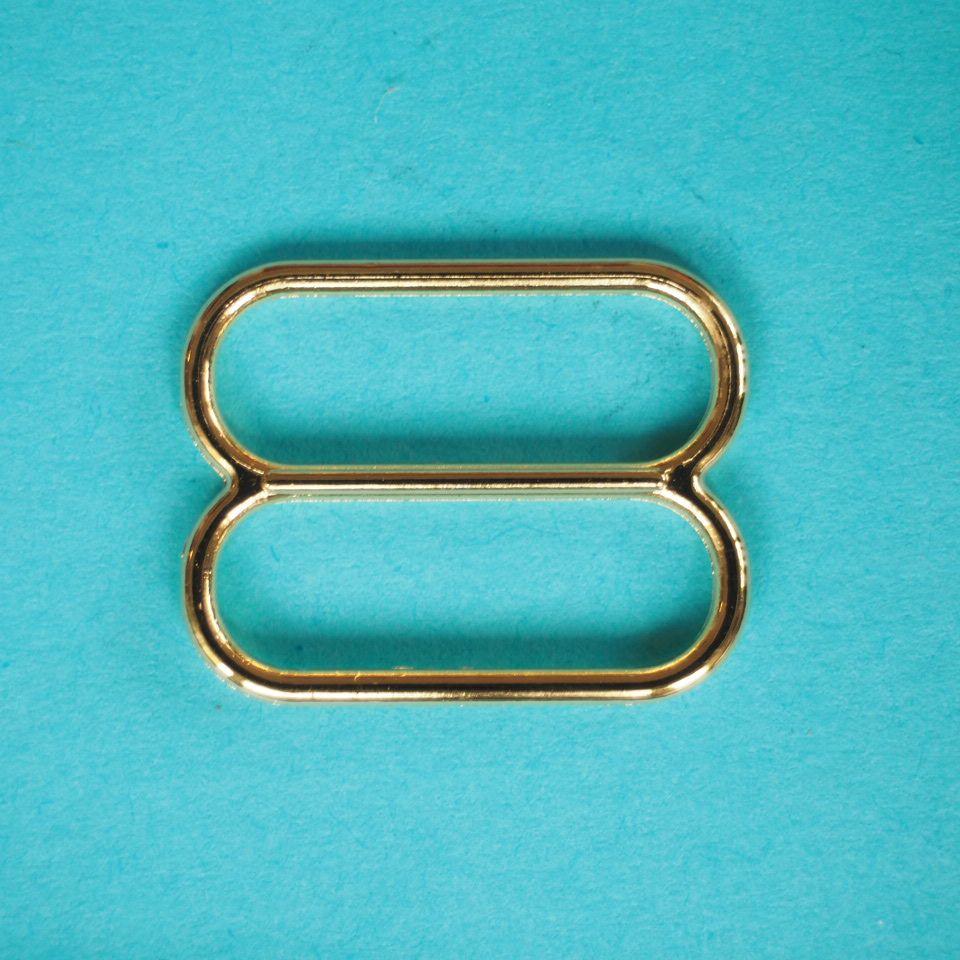 kovové zkracovače 18 mm zlaté