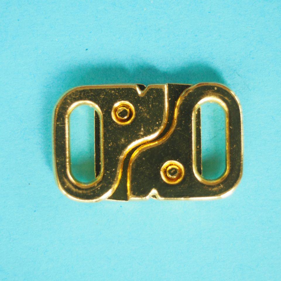 zapínání plavkové 9 mm zlaté