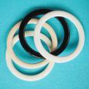 potahované kovové kroužky prádlové 16 mm